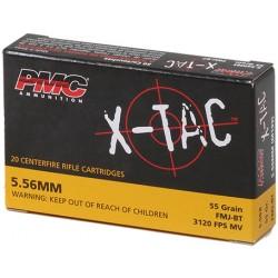 PMC X-TAC 5.56 NATO - 55 gr FMJ-BT
